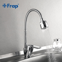 Frap 1 SET New Arrival Kitchen Faucet Mixer Cold and Hot Kitchen Tap Single Hole Water Tap Zinc alloy torneira cozinha F43701 b