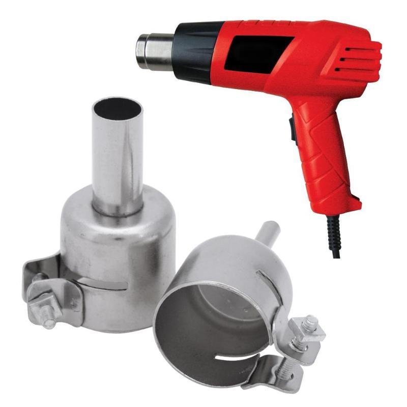 8pcs Soldering Station 850 Hot Air Gun Welding Heat Resistant Nozzle