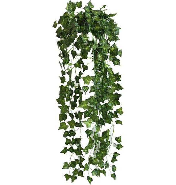 90cm Length Artificial Leaf Garland Plants Wall Hanging