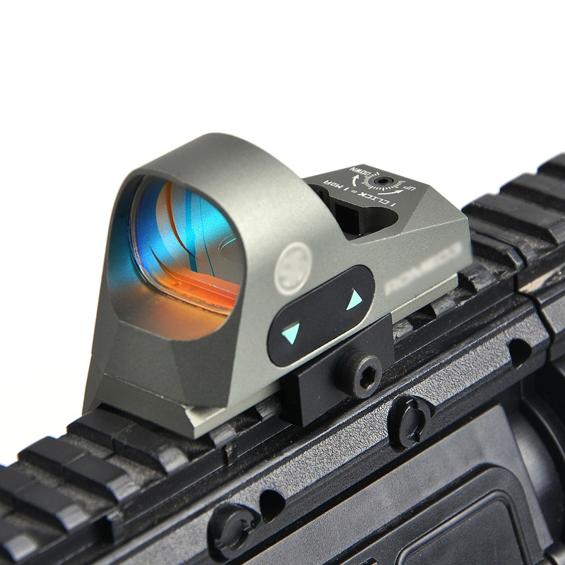 Tactical 1x25 Mini Red dot sight Reflex Sight 3 MOA Dot Reticle Red Dot Hunting Scope Picatinny QD Mount for Rifles Carbines tactical 1x red dot sight scope qd picatinny rail mount hunting shooting black 558 m7101