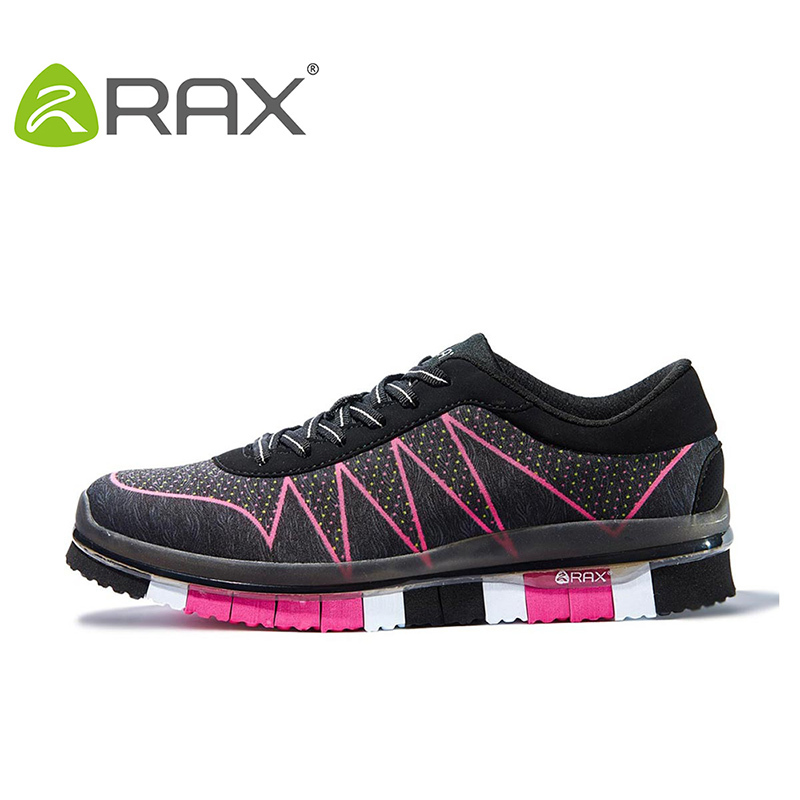 RAX Cushioning Running Shoes Women Sneakers Breathable Outdoor Sports Shoes for Jogging Walking Zapatillas Deporte with gift