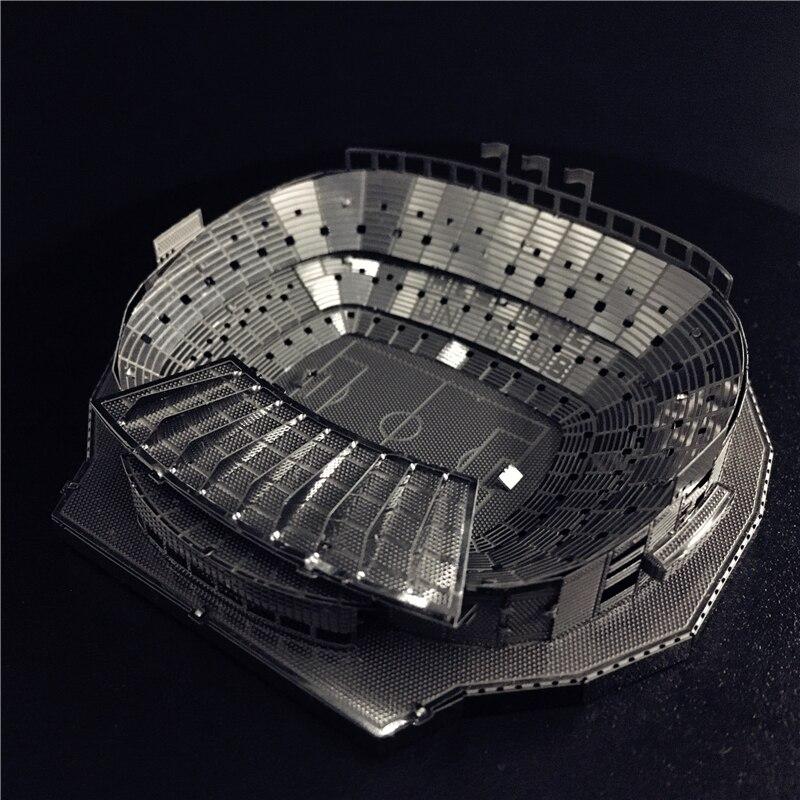 MMZ modelo NANYUAN 3D Metal modelo kit 1:3500 CAMP NOU estadio asamblea modelo DIY 3D Laser Cut modelo puzzle Juguetes para Adultos