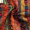 Free Shipping 1 Meters National Style Cloth Bronzing Cotton Fabrics DIY Handmade Fabric Sofa Fabric Curtain