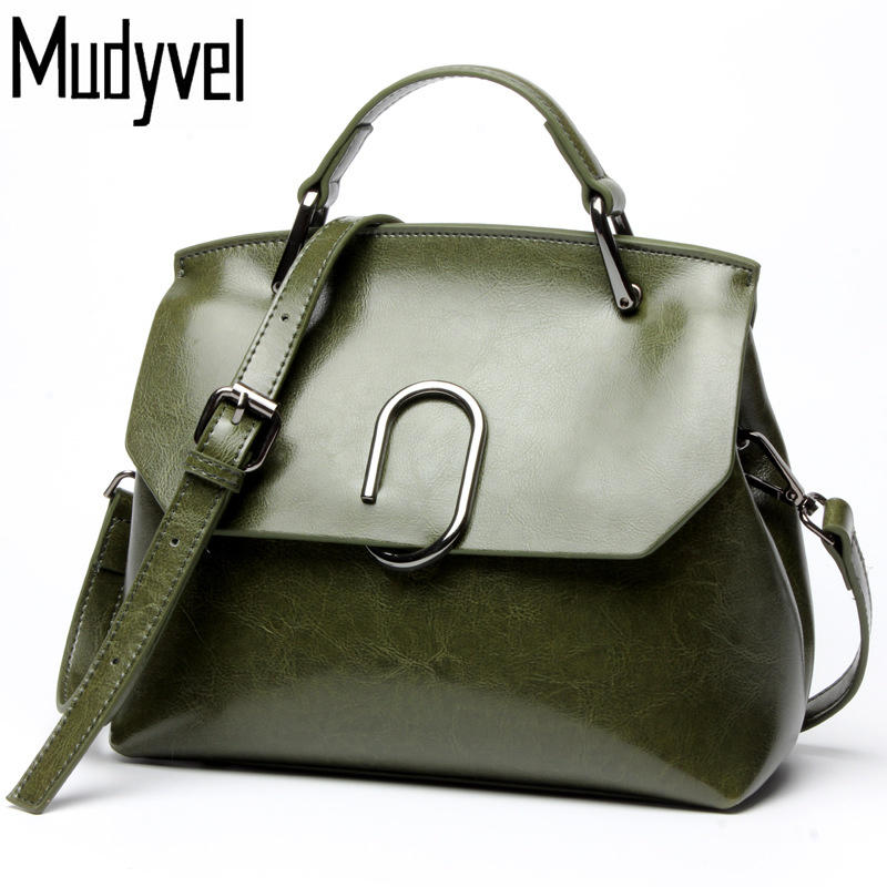 New European style women handbags quality Cowhide 100% genuine leather Shoulder messenger bags Luxury ladies cross body bags women genuine leather handbags ladies personality new head layer cowhide shoulder messenger bags hand rub color female handbags