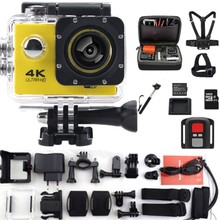 F60/F60R Action Camera 2.4G remote ultra hd 4K 12mp action video camera go waterproof extreme pro style Sport video Camera