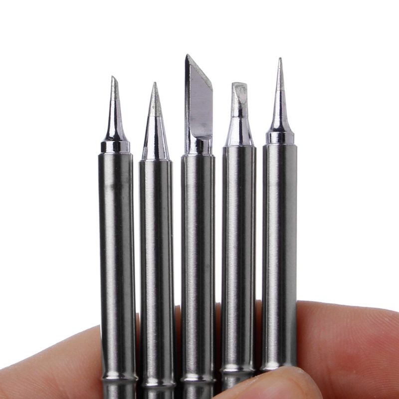 4/5 Pcs T12 Series Solder Iron Tips For Hakko Soldering Rework Station FX-951 FX-952 For T12-K T12-B T12-BC2 T12-D24 T12-ILS