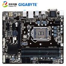цена на GIGABYTE GA-B150M-DS3H desktop motherboard LGA1151 i3 i5 i7 DDR4  64G Micro-ATX