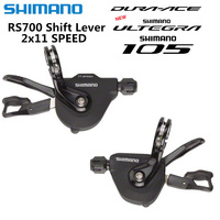 SHIMANO SL RS700 RAPIDFIRE Plus shift lever RS700 derailleurs 5800 R8000 6800 R9100 smooth road shift lever 11 speed 2x11 speed
