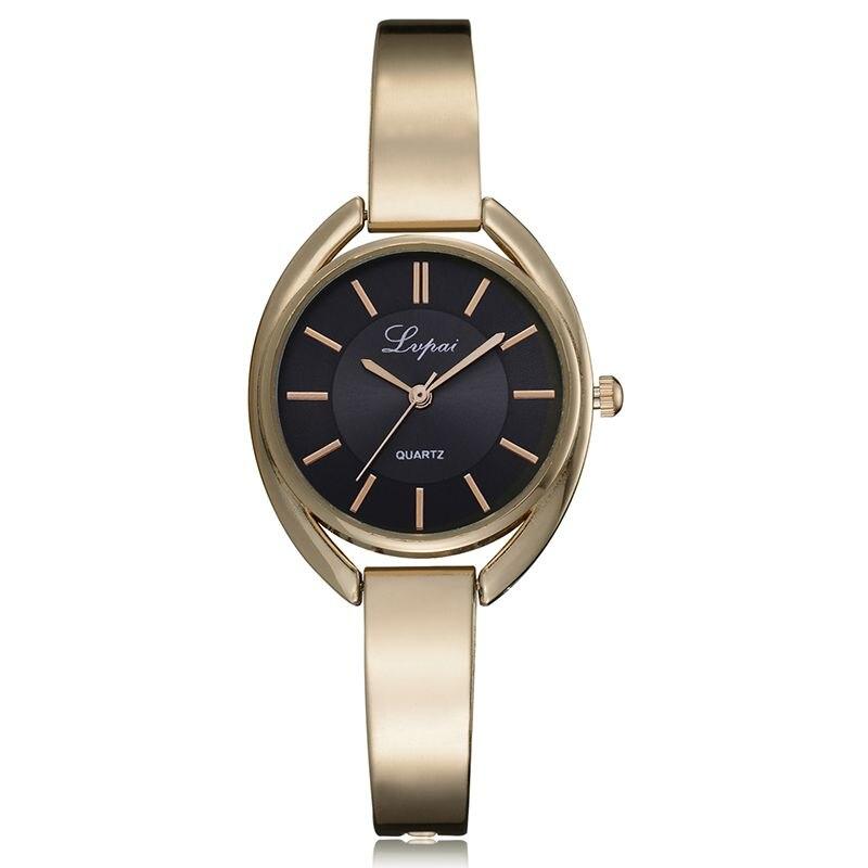 Relogio Feminino Fashion Watches Reloj de pulsera de acero simple - Relojes para mujeres
