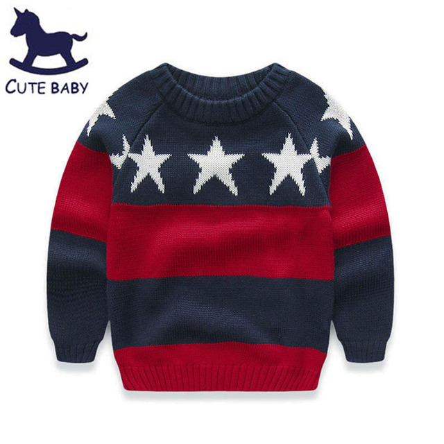All for children's clothes and accessories Boys Sweaters Children's sweater Kids Winter Clothes for Baby boys clothing for 2-8y