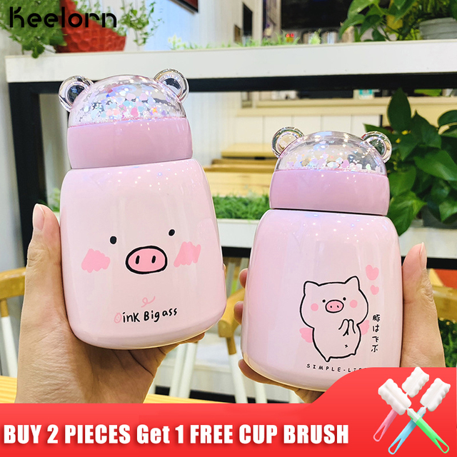 Pig stainless steel Thermos Flask
