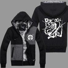 Jackets ONE PIECE Hoody Roronoa Zoro Cosplay Sportswear Hip Hop Jacket Men's Clothing Hoodies Men