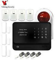 App Control Home Wifi Alarm System Touch Screen Gsm Autodial House Home Intruder Alarm System With
