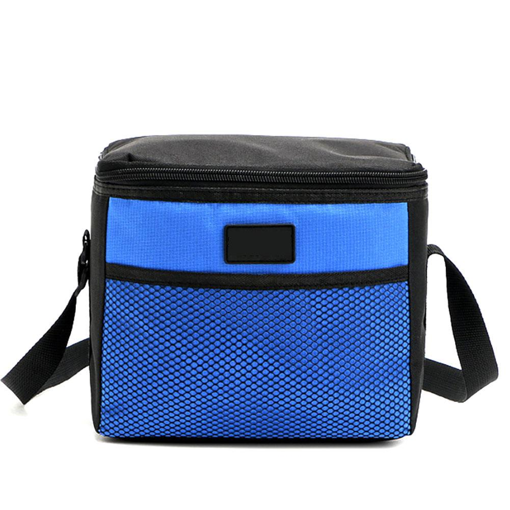 1pc 5L Cooler Insulated Lunch Bag Picnic Ice Pack Insulation Lunch Pouch 22x14x18cm