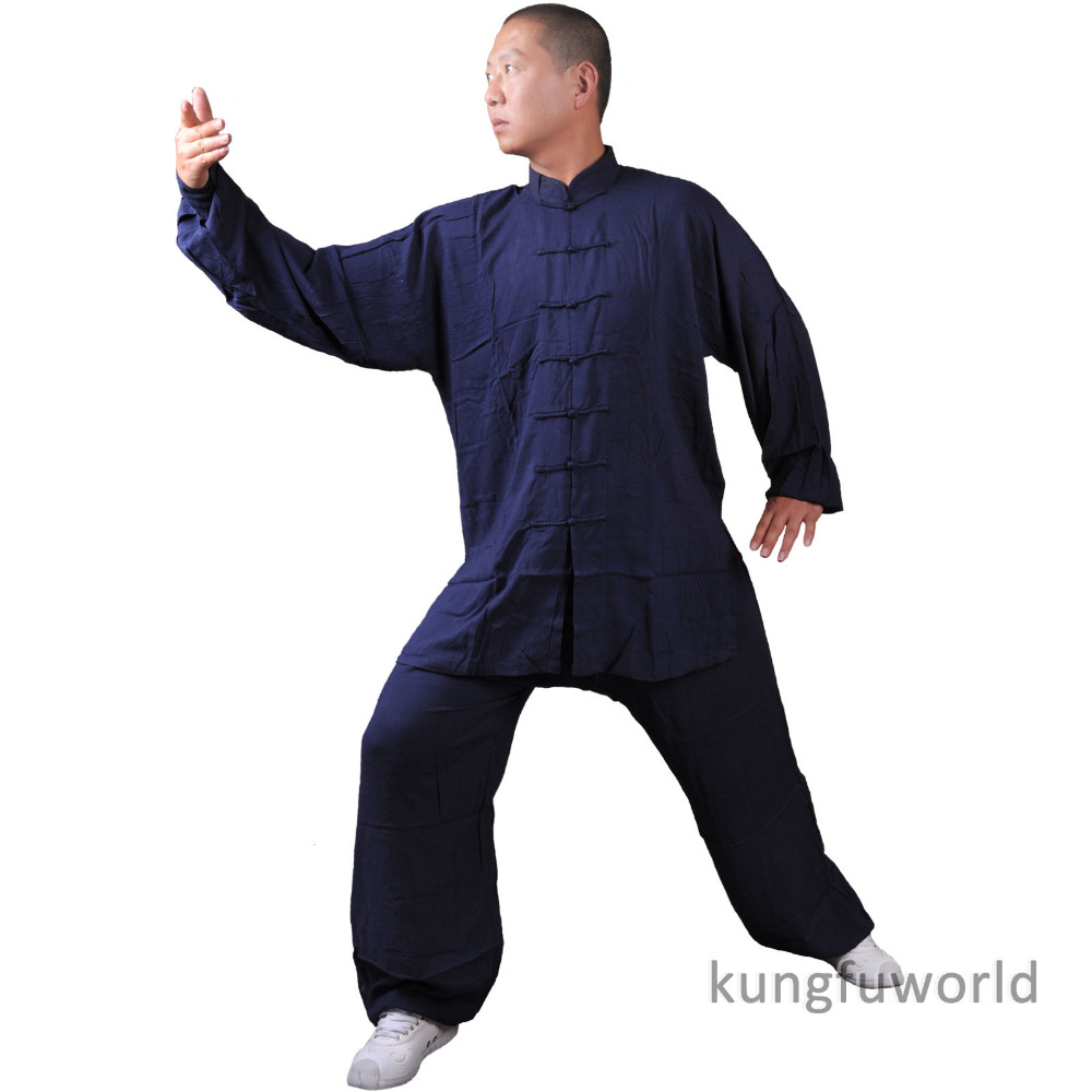 Tai chi Uniform Cotton Alta qualità per bambini e adulti Arti marziali Kung fu Suit Wushu Taiji Clothing