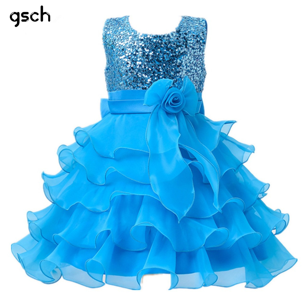 Girls Dresses Purple Blue Party Kids Clothes princess dresses Wedding ropa de ninas Flower Girls Sequined tutu dress robe fille high quality thickening tpu silicone cover for ipad air ipad 5 case fashion soft transparent froste cover air1 tablet pc stand