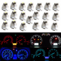 10pcs Car T4/T4.2 Neo Wedge LED Bulb Cluster Instrument Dash Climate Base Lights