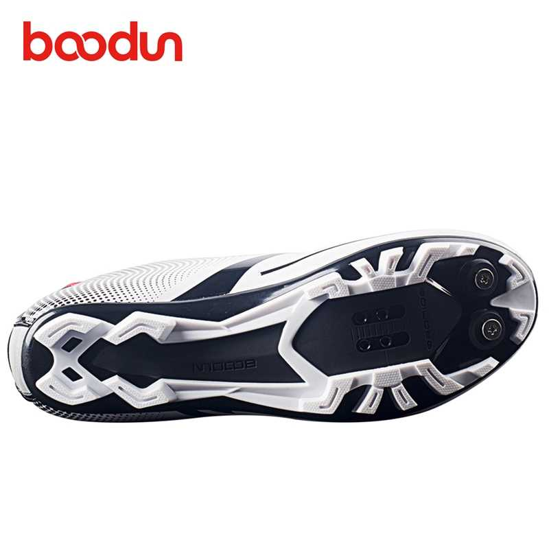 BOODUN Cycling Shoes sapatilha ciclismo mtb For Women sneakers Men Racing Bicycle Bike Shoes Self-Locking breathable spd pedals