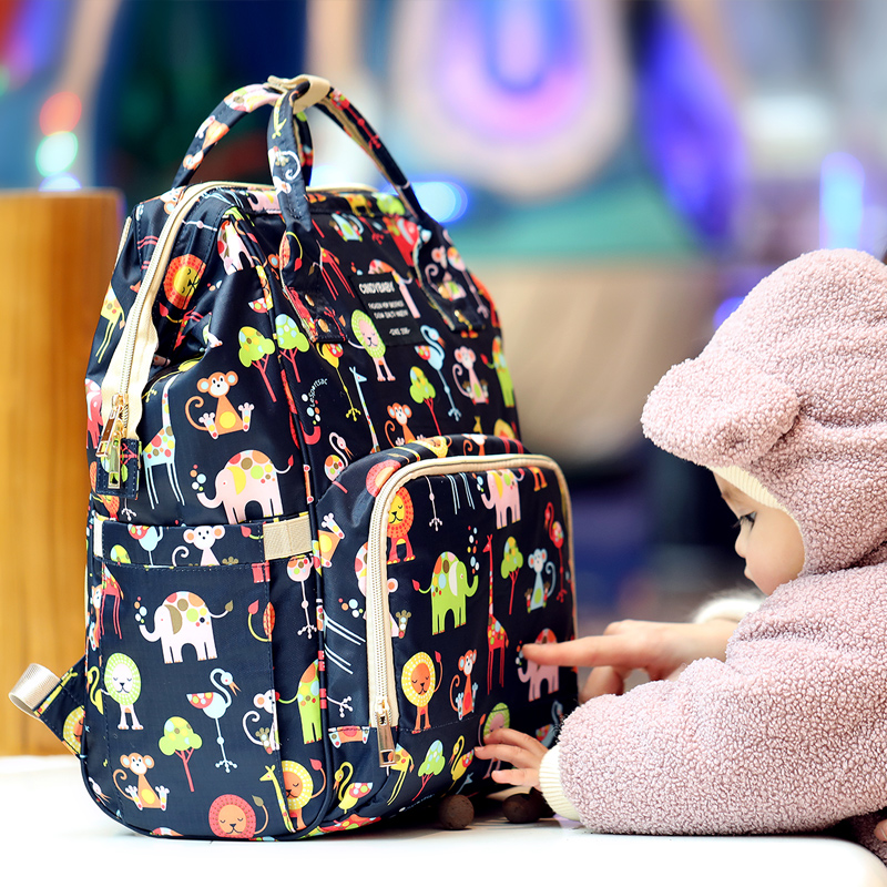 Fashion Mummy Maternity Nappy Bag Large Capacity Baby Bag Backpack Travel Nursing Bag For Stroller Baby Care Cloth Diaper Bags disney large capacity baby bag stroller diaper bag mummy maternity nappy bag travel backpack for baby care insulation bags