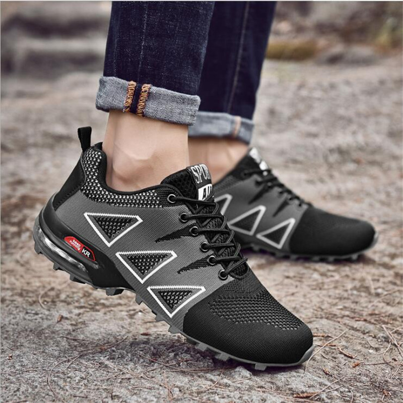 8ec5f2c3f VIXLEO New Running Shoes for Men Trail Shoes Sport Men Sneakers Jogging  Shoes Tennis Speed 3 Cross Athletic Shoes Size 39 47-in Running Shoes from  Sports ...