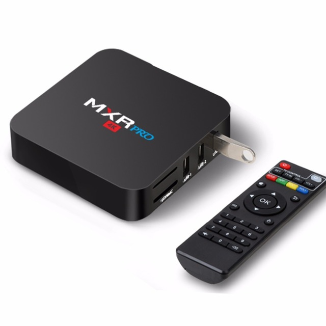 VHXSIN 10PCS/LOT MXR PRO Smart Android 7 1 TV Box RK3328 Quad core 4GB /  32GB dual WiFi PLUS-in Set-top Boxes from Consumer Electronics on