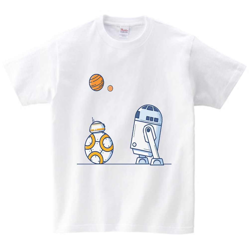 Free shipping Kids Girls Boys Star War T Shirt Children Unisex Short Sleeve Fashion Baby Casual Clothing toddler boy t shirts in T Shirts from Mother Kids