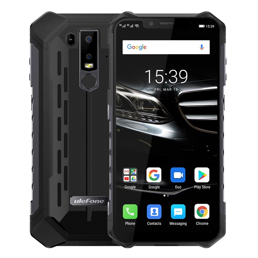 Ulefone Armor 6E IP68 Rugged Shockproof Mobile Phone Android 9.0 6.2