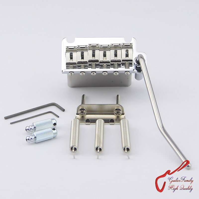 цены  1 Set Genuine Original GOTOH 510TS-SF1 2 Points Vintage Style Electric Guitar Tremolo System Bridge  ( Chrome ) MADE IN JAPAN