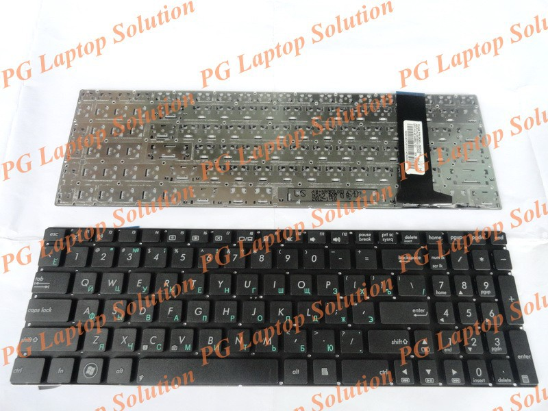 Russian Keyboard for Asus Q550 Q550L Q550LF G550 G550J G550JK N750 N750J N750JK N750JV Black without backlit RU KEYBOARD