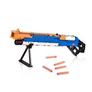 Image 5 - リボルバーピストル銃 swat 軍 WW2 武器 98 18k デザートイーグル短機関モデルビルディング · ブロック工事用
