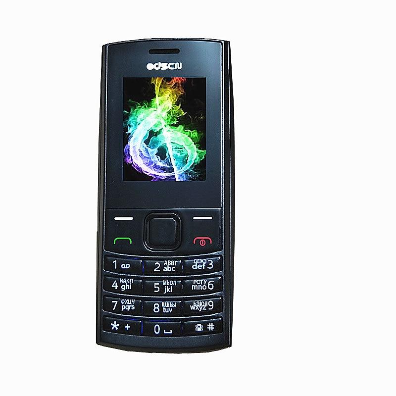 2017 Mince Mobile Téléphone De Luxe Mini Téléphone portable 1.75 ''Écran Dual Sim Pas Cher Téléphone Russe Clavier Odscn X2-02
