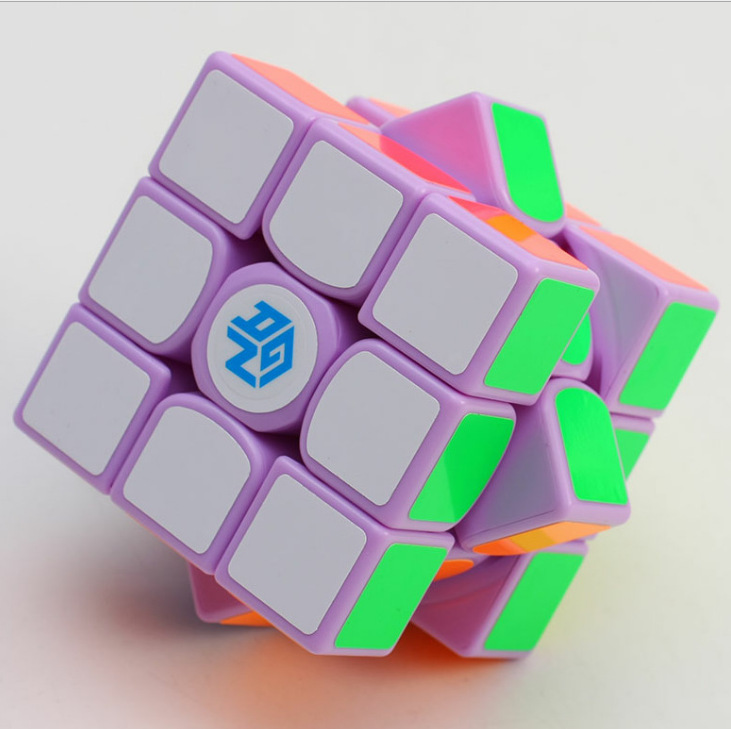 Gan 356 Air Macaron Purple Limited Edition 3*3*3 Magic Cube Speed Gan356 Air Competition Puzzle Educational Toys for Children недорого