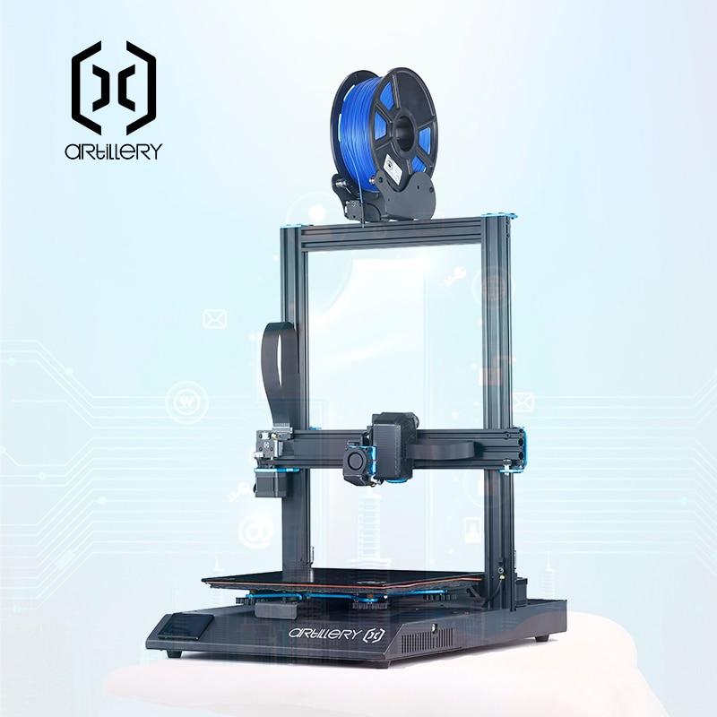 2019 Artiglieria TFT Touch LCD 3d kit stampante Sidewinder X1 Ultra-silenzioso Driver Dual asse Z Curriculum di Stampa Ad Alta velocità di 3d stampante