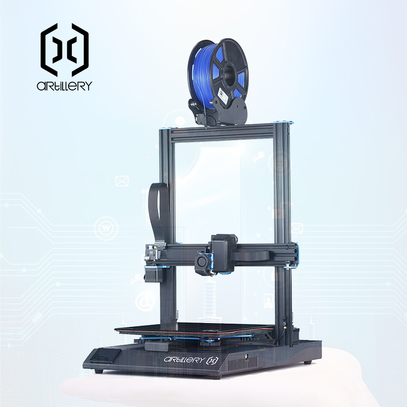 2019 TFT LCD Sensível Ao Toque de Artilharia kit impressora 3d Sidewinder X1 Ultra-silencioso Driver Dual eixo Z para Retomar a Impressão de Alta velocidade de impressora 3d