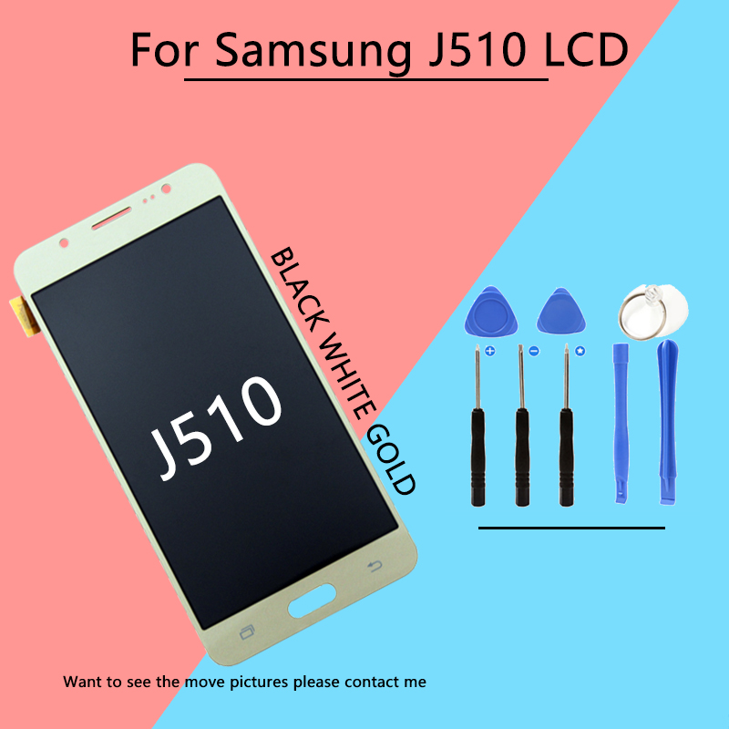 100% Test LCD Screen For sAMUSNG Galaxy J5 2016 J510 LCD Touch Display Digitizer Assembly Replacement Fast Shipping100% Test LCD Screen For sAMUSNG Galaxy J5 2016 J510 LCD Touch Display Digitizer Assembly Replacement Fast Shipping