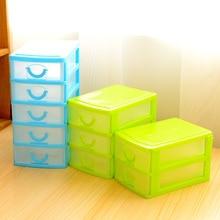 Practical Detachable DIY Desktop Storage Box Transparent Plastic Storage Box Jewelry Organizer Holder Cabinets for Small Objects недорого