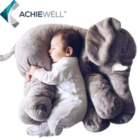 Brand Arrival Lovely Plush Elephant Soft Toys 45cm High Quality Stuffed Animal Doll For Baby Gifts