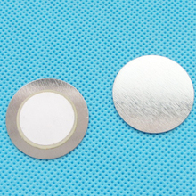 50 шт. 27 мм* 0,33 мм Железный пьезо диск для зуммер датчик давления динамик
