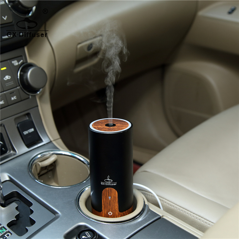 GX.Diffuser USB Car Air Humidifier Mini Essential Oil Diffuser Ultrasonic Aroma Diffuser Mist Maker Fogger Office Home Spa Yoga