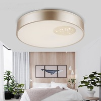 Round Led Ceiling Lamps Modern Bedroom Round Crystal Creative LED Decorative House Ceiling Light ZA911414