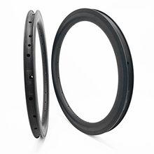 DAIRS – jantes de vélo de route en carbone pour BMX, 451, 50x21mm, tubeless, pliable, 451g, 365