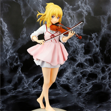 Haocaitoy Figure Toys Miyazono Kaori PULCHRA 4th Your Lie in April Anime Action Figures Dolls PVC Model Toys Violin Collectible все цены