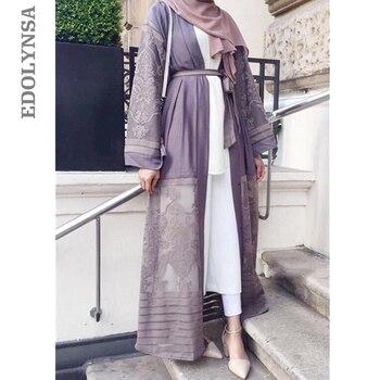 2ac8aa987d Women Pakistan Clothing Qatar Uae Muslim Kimono Hijab Front Open Abaya Sexy  Arab Turkey Women Clothes