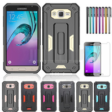 Shockproof Rugged Hybird Impact Hard Jazz Armor Defender Case Cover With Stylus+Films For Samsung Galaxy Express Prime