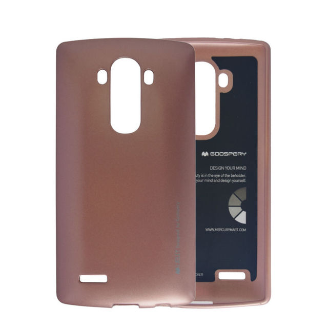 huge discount 90e34 126b2 US $7.49 |Original Brand Metallic Finish Phone Case For LG G4 H810 H815  F500 Matte Soft TPU Silicone Jelly Gel Phone Accessories Cover-in Fitted  Cases ...