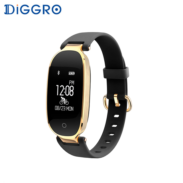 Diggro S3 Smart Wristbands Bracelet Heart Rate Monitor Bracelet Fitness Tracker Gift to Lady for Android iOS