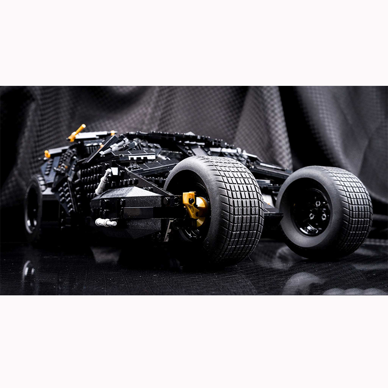 DC Dark knight THE TUMBLER LegoINGlys 76023 Bat man Model Building Block Set Kids Brick Toy