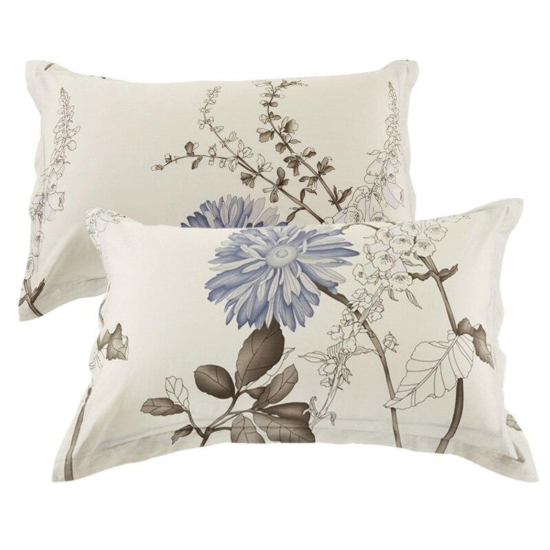 pillowcase 19*29 print Pillow Sham single pillowcases 48*74cm Pair