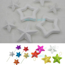 Handmade Foam Star Polystyrene Styrofoam DIY New Decorations Party Accessory Many Kinds of Sizes to Choose