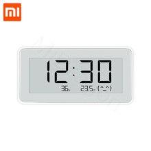 Nouveau Xiaomi Mijia BT4.0 sans fil intelligent électrique numérique intérieur et extérieur hygromètre theromètre horloge outils de mesure ensemble